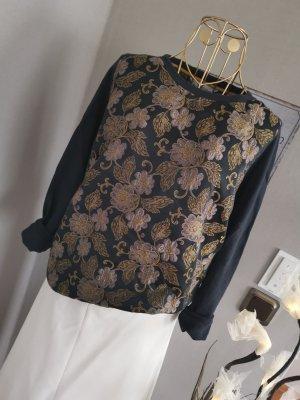 Le Sarte Pettegole Sweatshirt brokat Blumen Gr 36