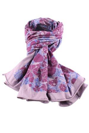 Le.Sens Halstuch pink-blau Animalmuster Casual-Look