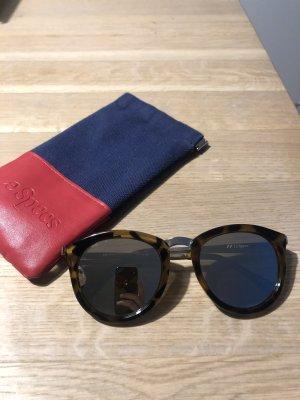 Le Specs Gafas panto marrón-negro