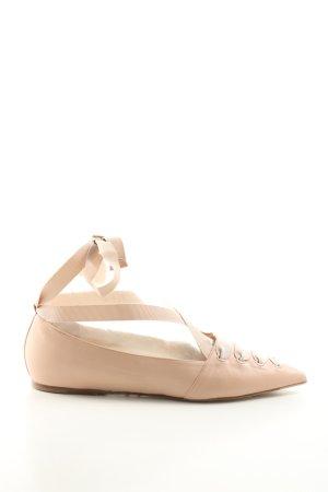 Le Silla Ballerinas mit Spitze creme Elegant