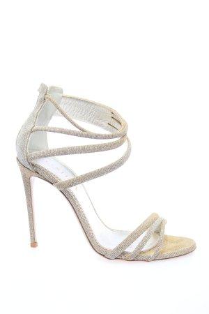 Le Silla High Heel Sandaletten goldfarben Elegant