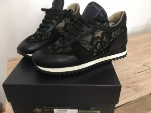 Le Silla Sneaker con tacco nero