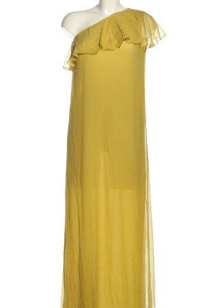 Le Sirenuse One-Shoulder-Kleid blassgelb Casual-Look
