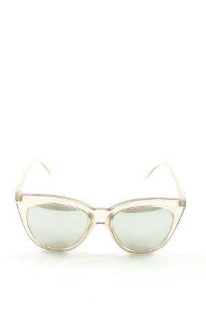 Le Specs Gafas crema look casual