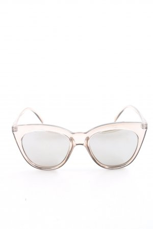 Le Specs Brille creme Casual-Look