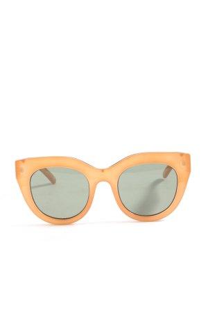 Le Specs Gafas mariposa naranja claro look casual