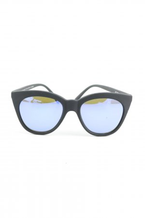 Le Specs Butterfly Brille blau Casual-Look