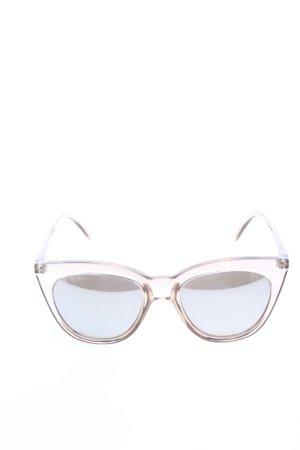 Le Specs Gafas mariposa crema look casual