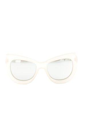 Le Specs Gafas mariposa rosa estilo extravagante