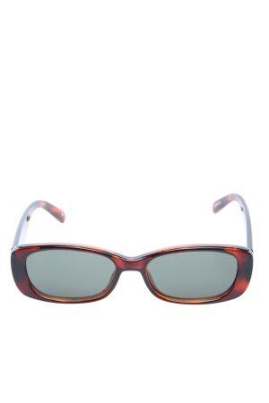 Le Specs Occhiale da sole spigoloso marrone stile casual