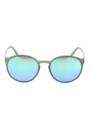 Le Specs Gafas de sol ovaladas verde look casual