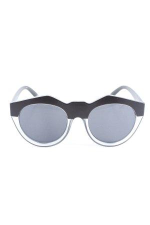 Le Specs Gafas de sol ovaladas negro look casual