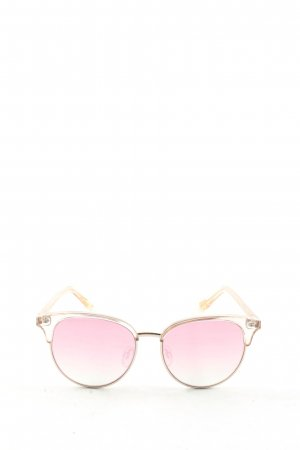 Le Specs Gafas panto color oro look casual