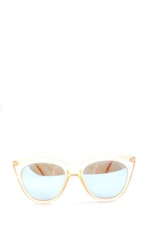 Le Specs Gafas panto color oro elegante