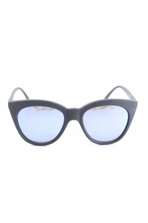 Le Specs Gafas panto negro look casual