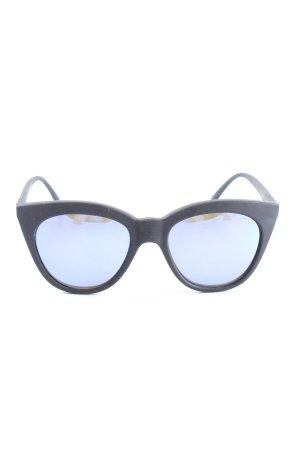 Le Specs Panto Glasses black casual look