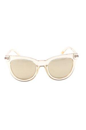 "Le Specs Panto Glasses ""Le Debutante"" gold-colored"