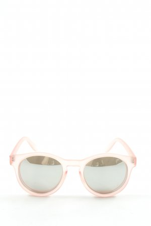 Le Specs Panto Brille pink Casual-Look