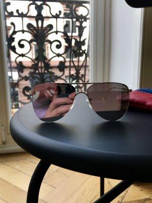 Le Specs Occhiale da pilota oro-color oro rosa