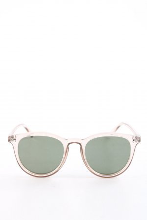 Le Specs Retro Brille creme Casual-Look