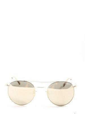Le Specs Gafas de sol redondas color oro look casual