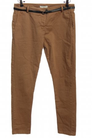 le streghe Stoffhose braun Casual-Look
