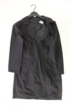 Trench Coat black polyester