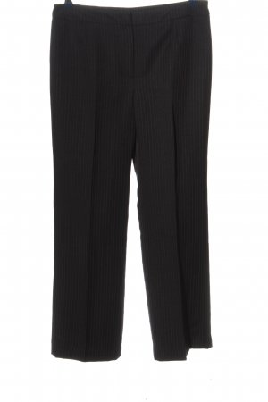 Le Suit Petite Pantalón de vestir negro-rojo look casual