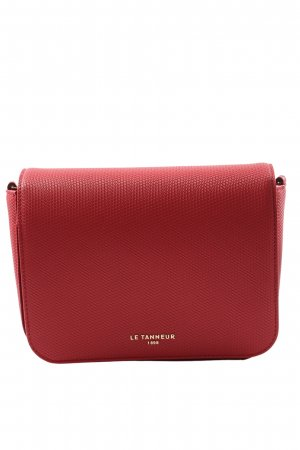 Le Tanneur Mini sac rouge imprimé allover style décontracté