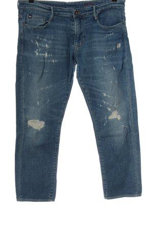 Le Temps des Cerises Jeans a 7/8 blu stile casual