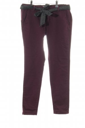 Le Temps des Cerises Chino rood casual uitstraling