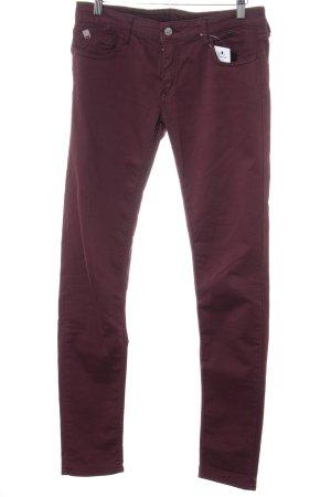Le Temps des Cerises Hoge taille jeans bordeaux casual uitstraling
