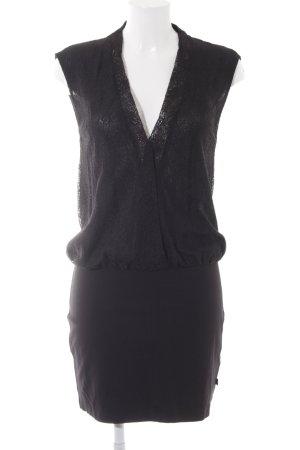 Le Temps des Cerises Minikleid schwarz Elegant