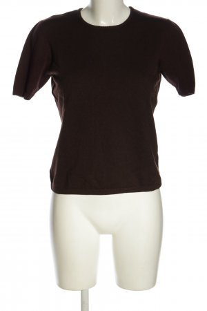 Le Tricot Longhin Wollpullover braun Casual-Look