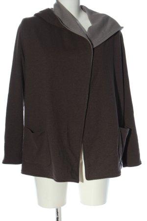 Le Tricot Perugia Veste tricotée en grosses mailles brun style décontracté