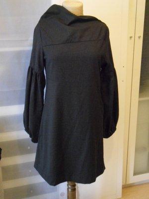 Empire Dress anthracite mixture fibre