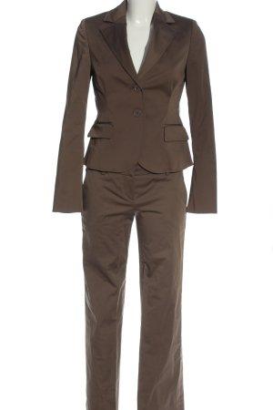 Le trou d'aiguille Garnitur damski brązowy W stylu biznesowym