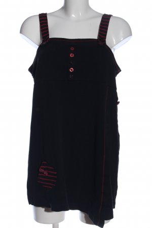 Lea H. Camisole schwarz-rot Casual-Look