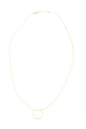 Leaf Collier goud casual uitstraling