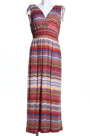Maxi Dress striped pattern casual look