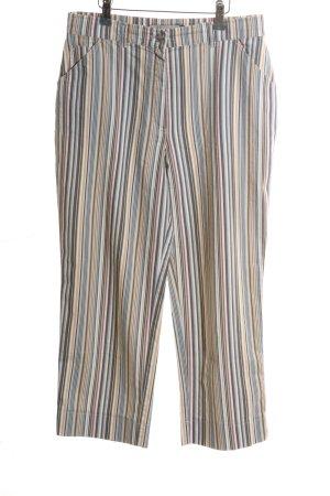 Leara Woman Pantalone culotte motivo a righe stile casual