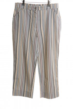 Leara Woman Culottes Streifenmuster Casual-Look