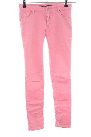 Leara Woman Röhrenhose pink Casual-Look