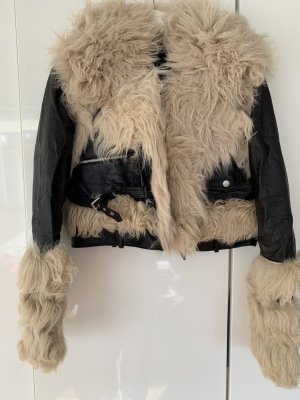 Pelt Jacket black-cream