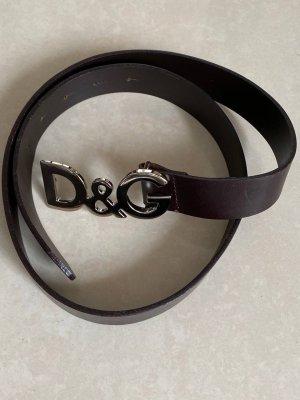 Leather Belt D&G