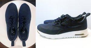 Nike Sneaker stringata blu scuro Pelle