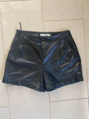 Leather Shorts Mango