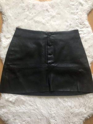 Leather skirt von Zara