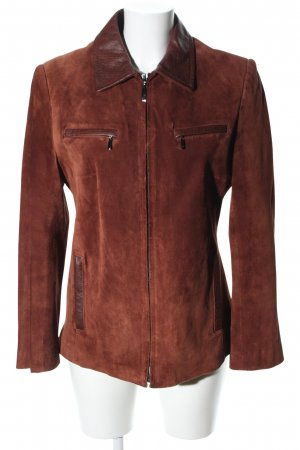 Leather Sound Lederjacke braun Casual-Look