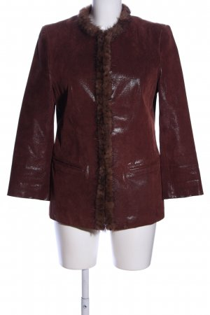 Leather Sound Lederjacke braun Elegant